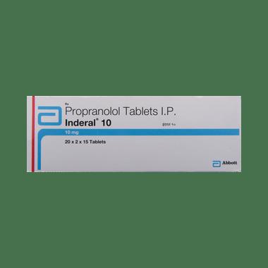 Inderal 10 Tablet