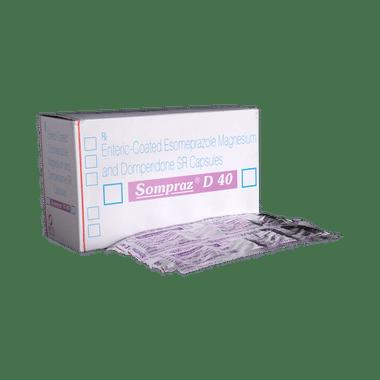 Sompraz D 40 Capsule SR