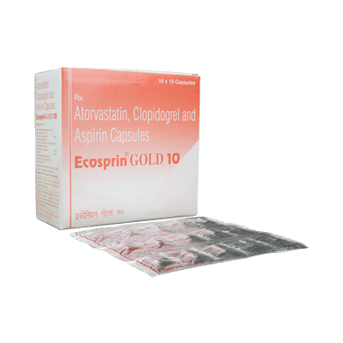 Ecosprin Gold  10 Capsule