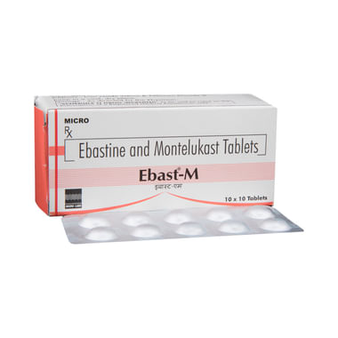 Ebast-M Tablet