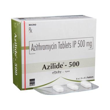 Azilide 500 Tablet