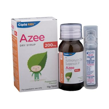 Azee 200mg Dry Syrup