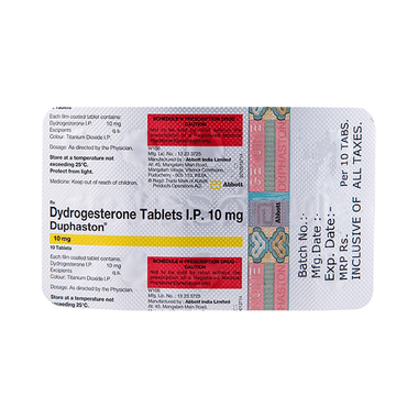 Duphaston 10mg Tablet