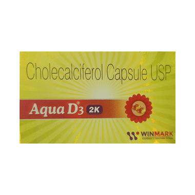 Aqua D3 2K Soft Gelatin Capsule