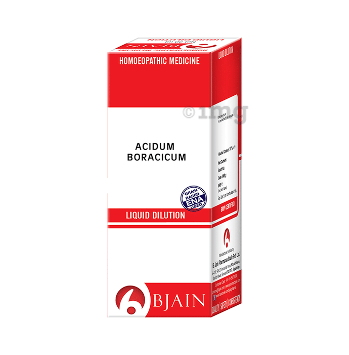 Bjain Acidum Boracicum Dilution 12 CH