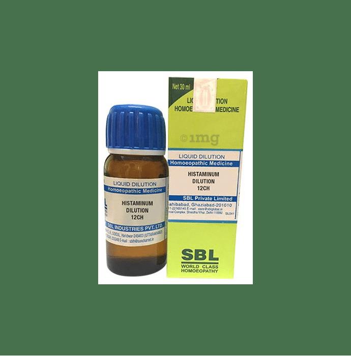 SBL Histaminum Dilution 12 CH