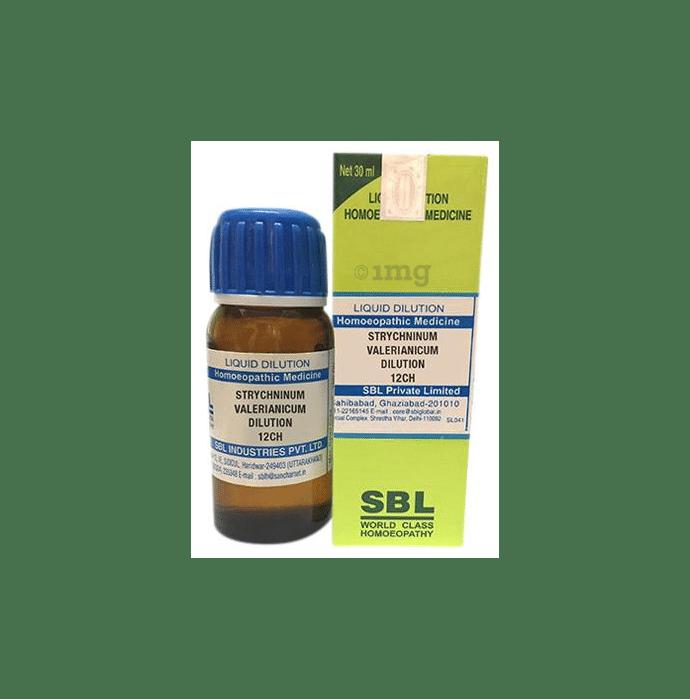 SBL Strychninum Valerianicum Dilution 12 CH