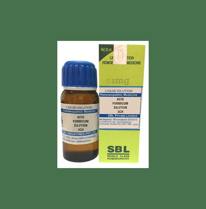 SBL Acid Formicum Dilution 3 CH