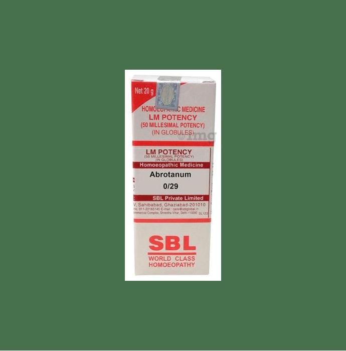 SBL Abrotanum 0/29 LM