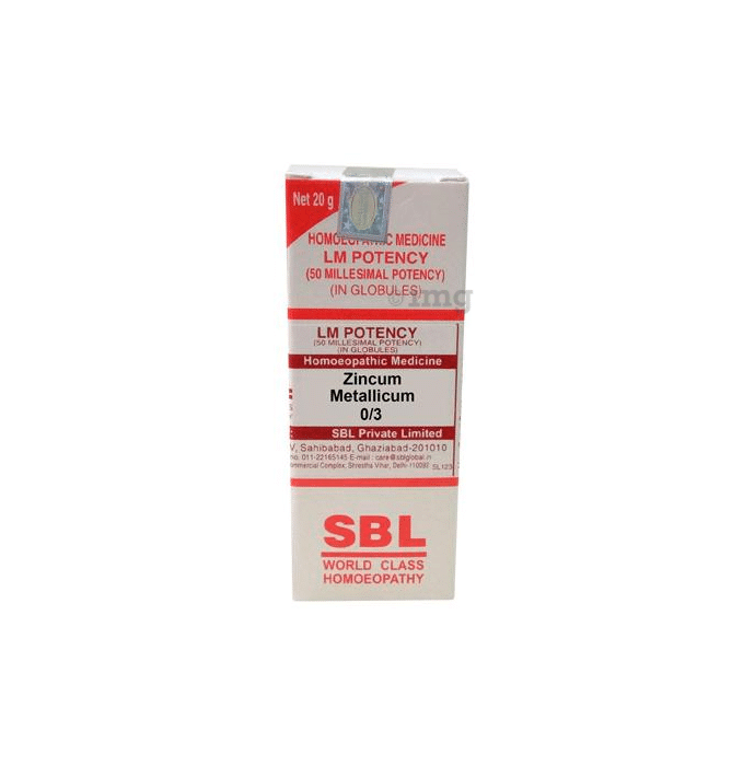 SBL Zincum Metallicum 0/3 LM