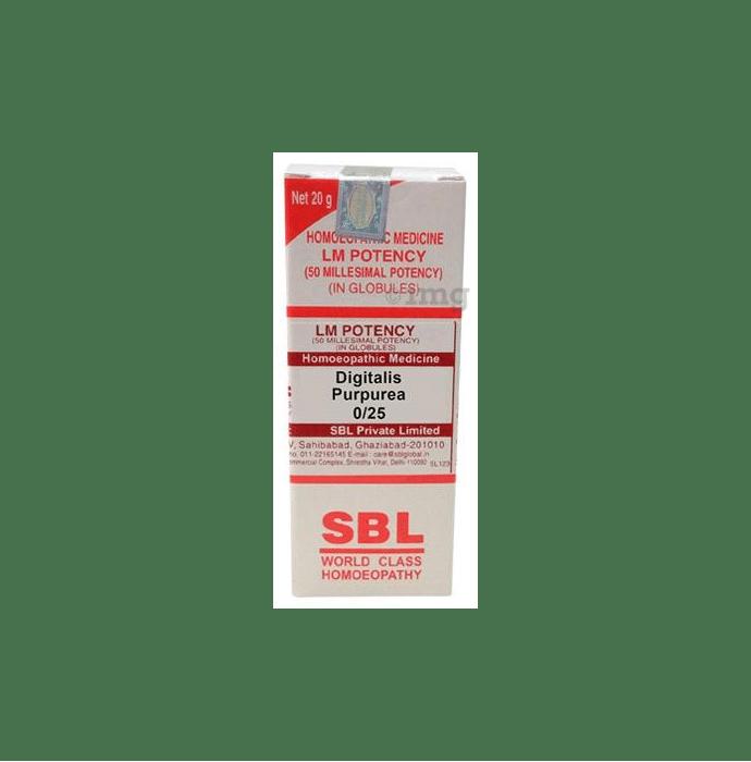 SBL Digitalis Purpurea 0/25 LM