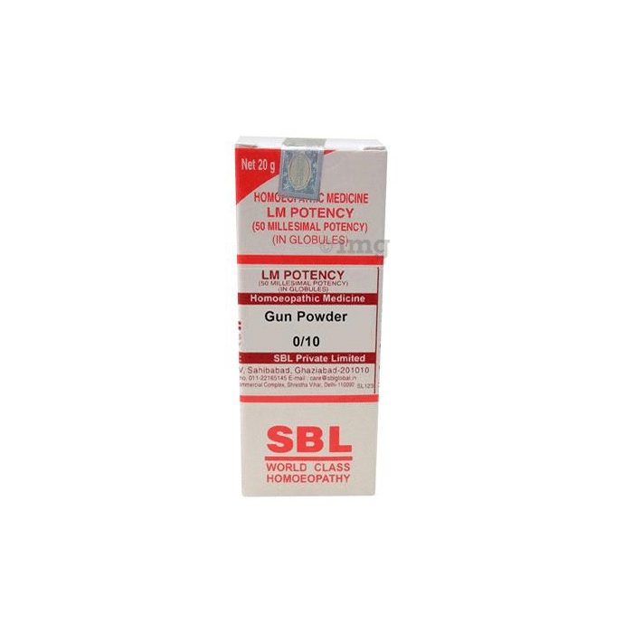 SBL Gun Powder 0/10 LM