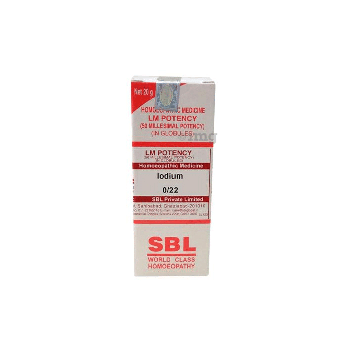 SBL Iodium 0/22 LM