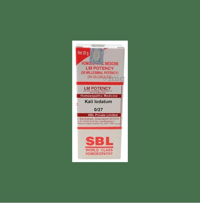 SBL Kali Iodatum 0/27 LM