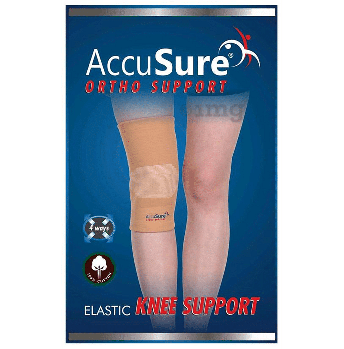 AccuSure K-9 Elastic Knee Support Small