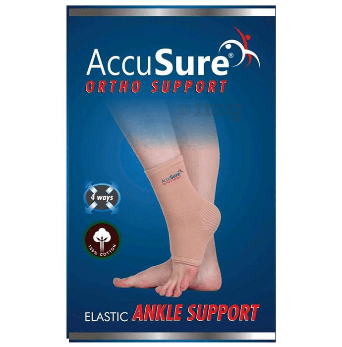 AccuSure A-9 Elastic Ankle Support Large