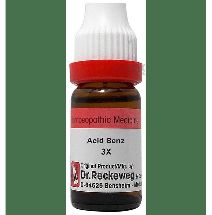 Dr. Reckeweg Acid Benz Dilution 3X