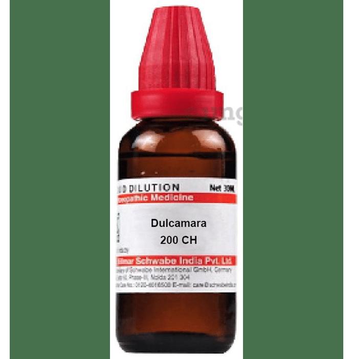 Dr Willmar Schwabe India Dulcamara Dilution 200 CH