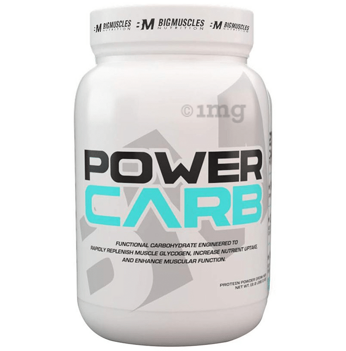 Big  Muscles Power Carb Strawberry