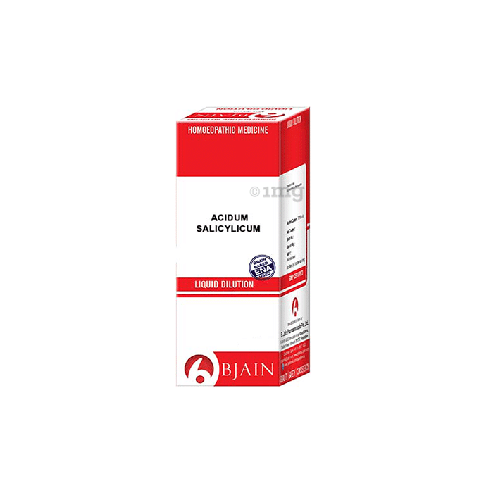 Bjain Acidum Salicylicum Dilution 6X