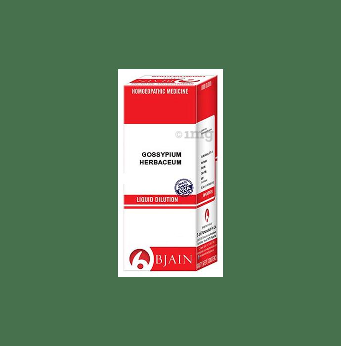 Bjain Gossypium Herbaceum Dilution 30 CH