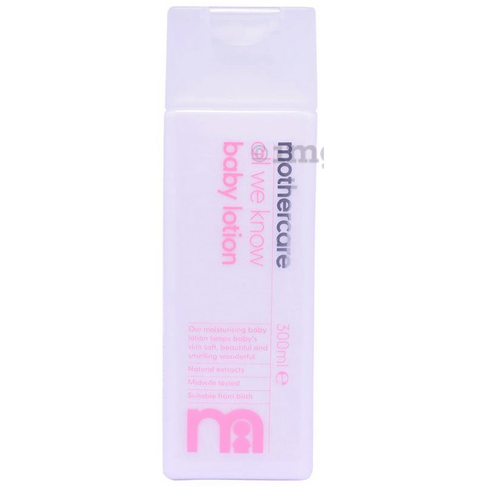 Mothercare Baby Lotion Pack of 3: Buy bottle of 300 ml Lotion at best price  in India | 1mg
