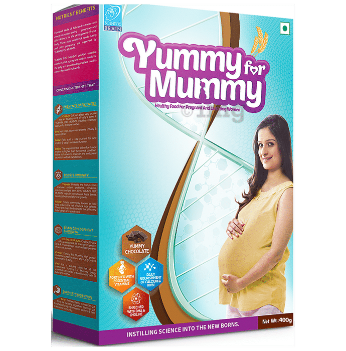 Yummy for Mummy Pregnant and Lactating Women Supplement Yummy Chocolate
