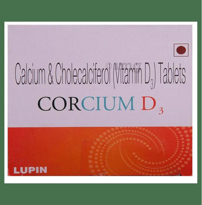 Corcium D3 Tablet