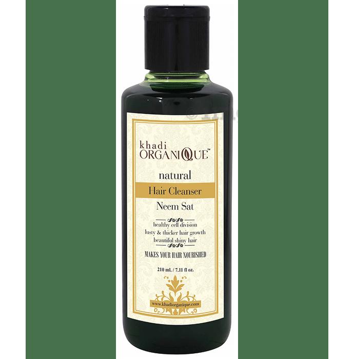 Khadi Organique Natural Hair Cleanser Neem Sat