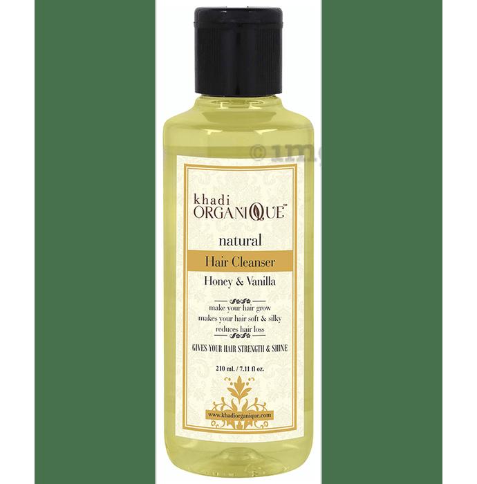 Khadi Organique Natural Hair Cleanser Honey and Vanilla