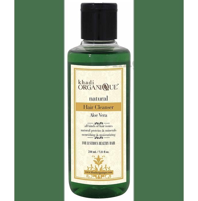 Khadi Organique Natural Shampoo Aloe Vera