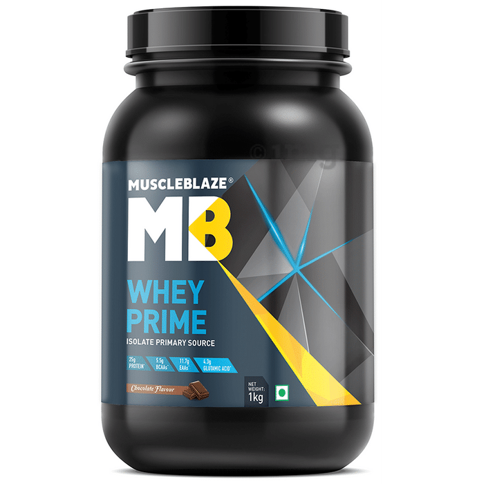 MuscleBlaze Whey Prime Chocolate