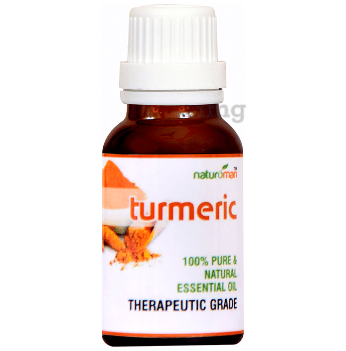 Naturoman Turmeric Pure and Natural Essential Oil