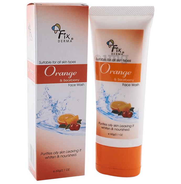 Fixderma Face Wash Orange and Bearberry