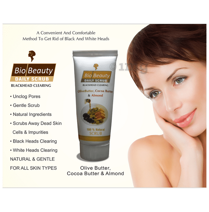 Bio Beauty Daily Olive Oil Cocoa Butter & Almond Scrub {variant.name}