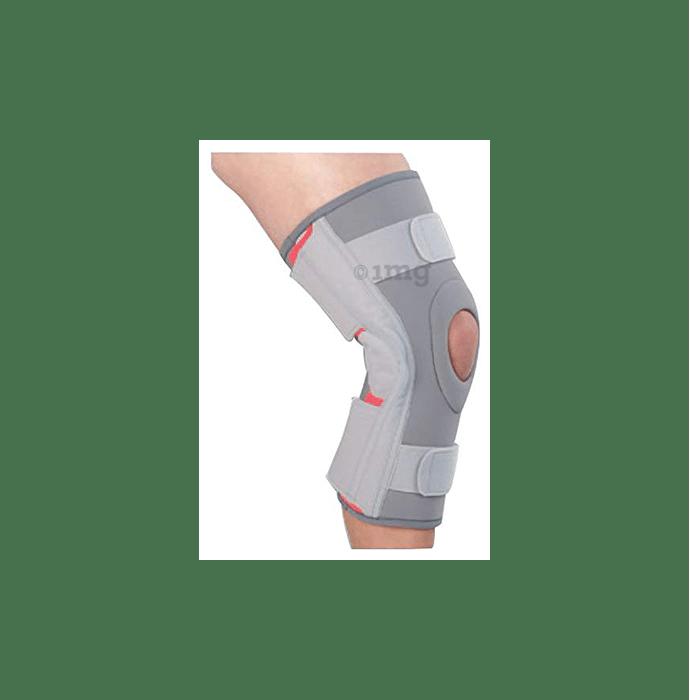 Medtrix Functional Open Patella Hinge Knee Support Large Grey