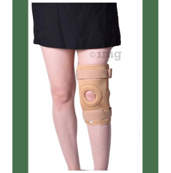 Medtrix Functional Open Patella Hinge Knee Support XL Beige