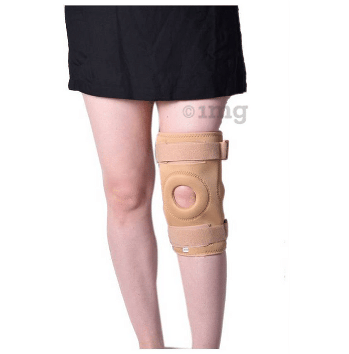 Medtrix Functional Open Patella Hinge Knee Support Small Beige