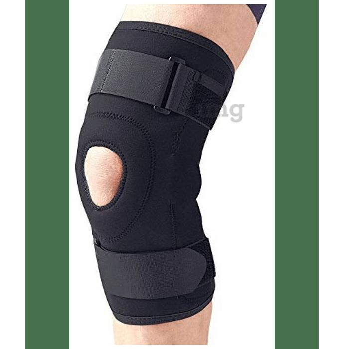 Medtrix Functional Open Patella Hinge Knee Support XL Black