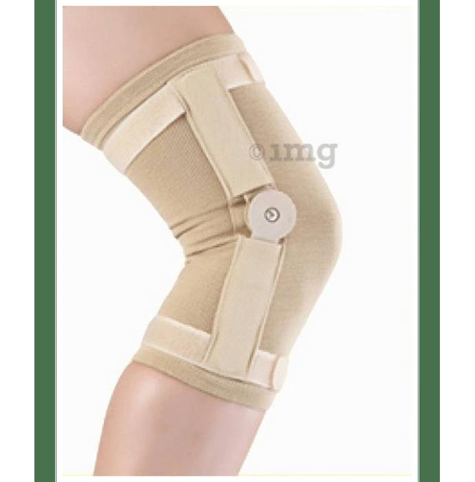 Medtrix Hinged Knee Cap Small Beige Premium
