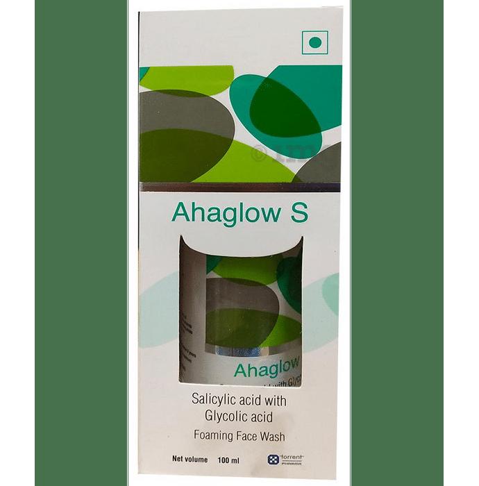 Ahaglow S Foaming Face Wash