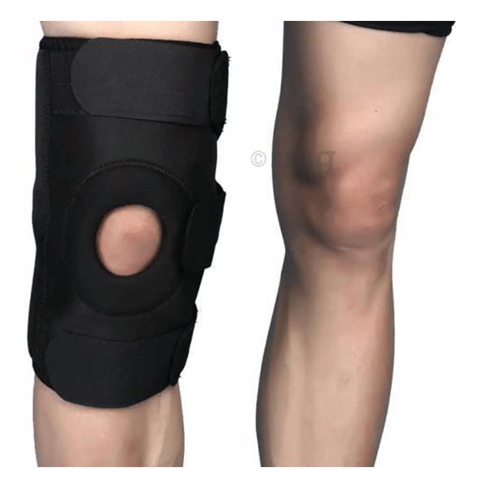 Witzion Functional Knee Support Large Black
