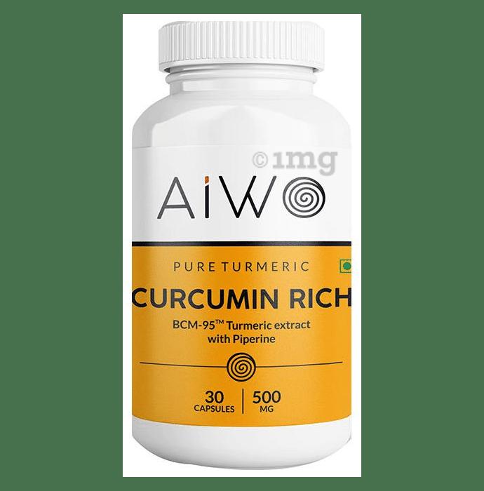 AIWO Curcumin Rich 500mg Capsule