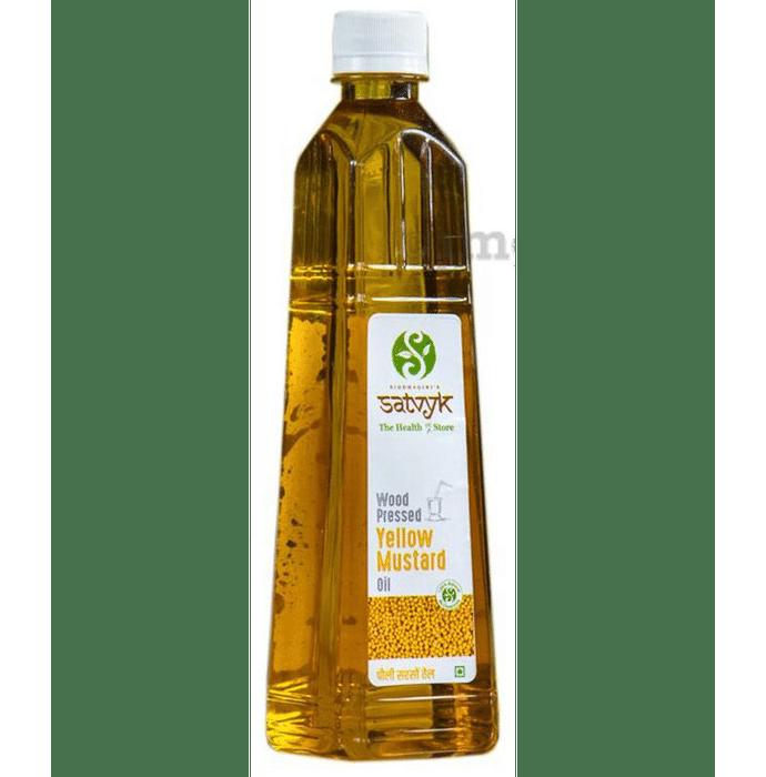 Satvyk Wood Pressed Yellow Mustard Oil