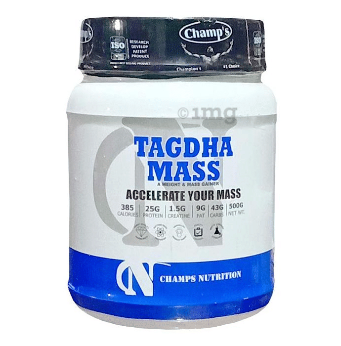 Champs Nutrition Tagdha Mass Gainer Powder Chocolate Brownie