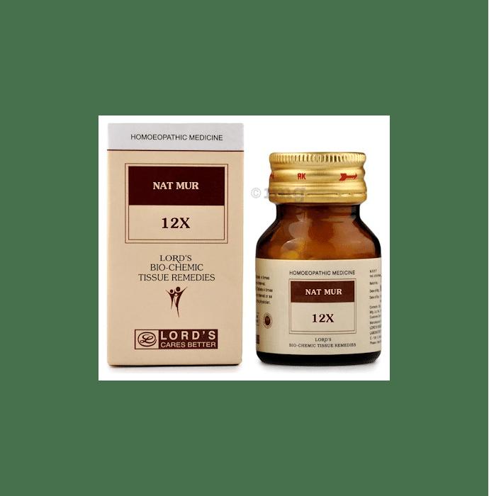 Lord's Nat Mur Biochemic Tablet 12X