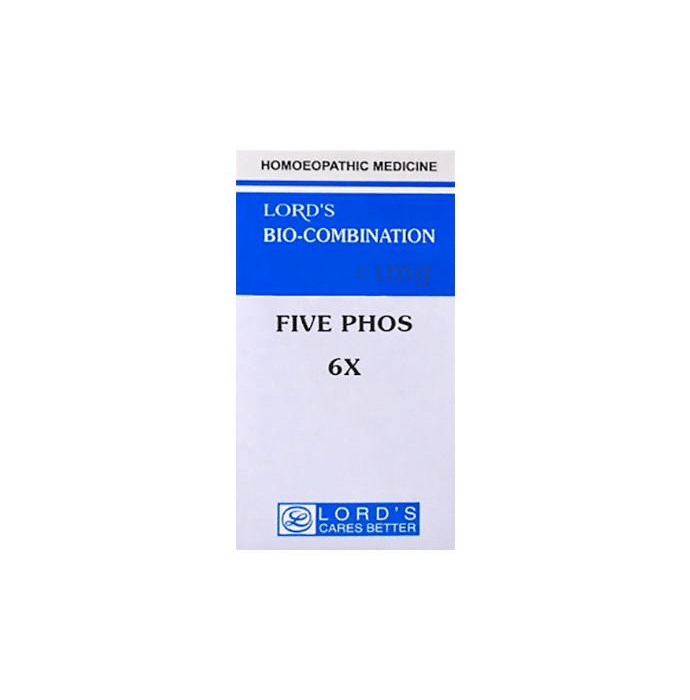 Lord's Five Phos Biocombination Tablet 6X