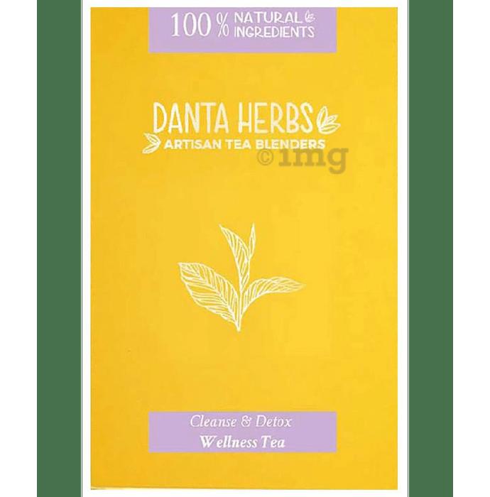 Danta Herbs Cleanse & Detox Wellness Tea