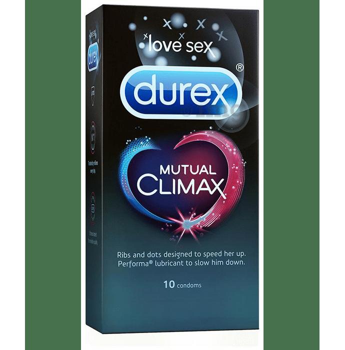 Durex Mutual Climax Condom (10 Pcs Each)