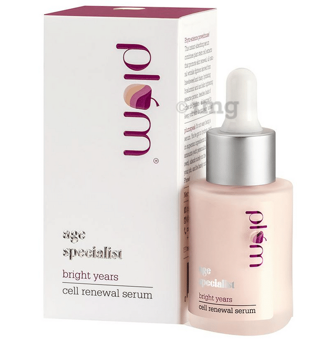 Plum Age Specialist Bright Years Cell Renewal Serum